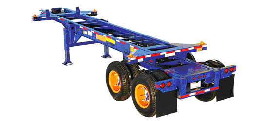 40 foot Gooseneck Tandem Chassis